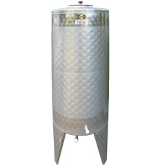 165 Gallon Jacketed Stainless Steel Fermenter for Homebrewing or Wine Making