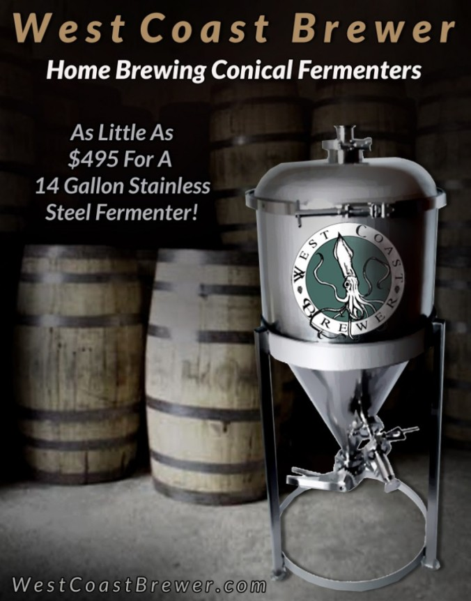 Homebrewing Conical Fermenters
