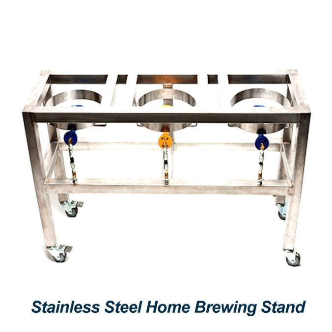 Stainless Steel Homebrewing Stand