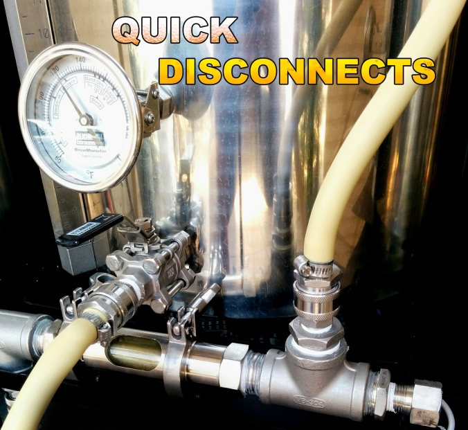 Homebrewing Quick Disconnects