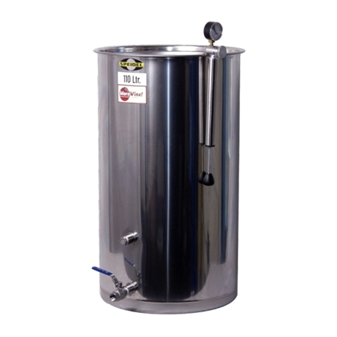 Save $65 on a Speidel Stainless Steel Variable Volume Wine Tank